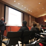 Dr William Worden ( USA-Harvard) durante su ponencia en las 1ª Jornadas IPIR 2016